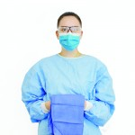 Gown M+Guard Implant with Hand Towel S Sterile