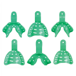 Impression Trays Edentulous Green LL